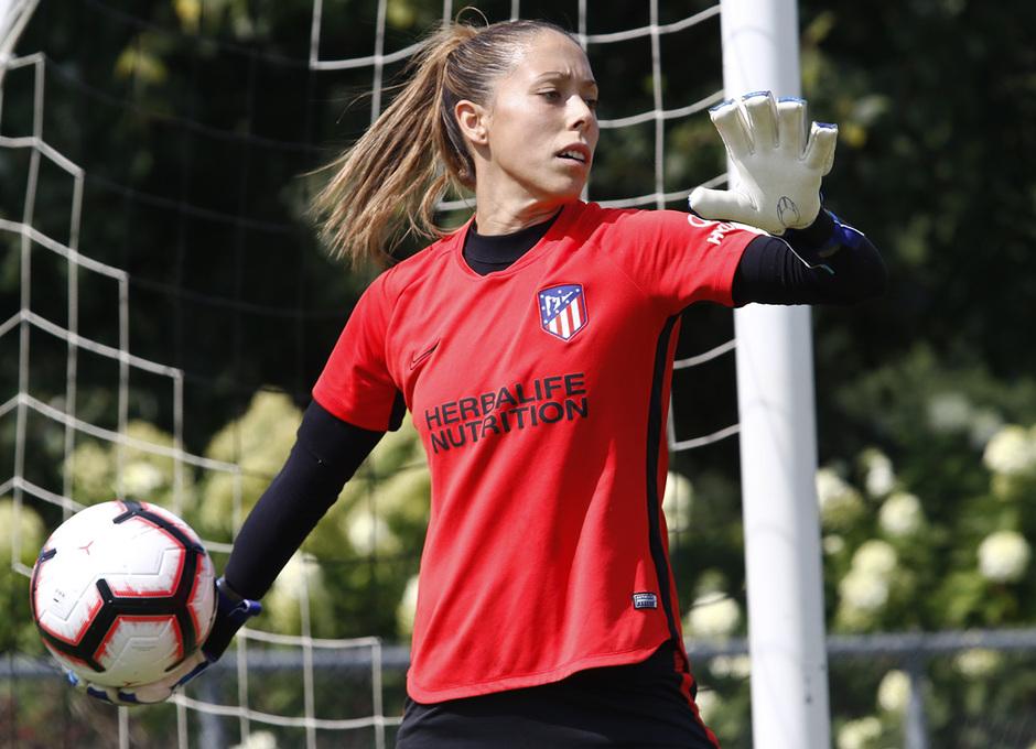 Temporada 19/20 | Entrenamiento del Atlético Femenino en Raleigh | Lola Gallardo