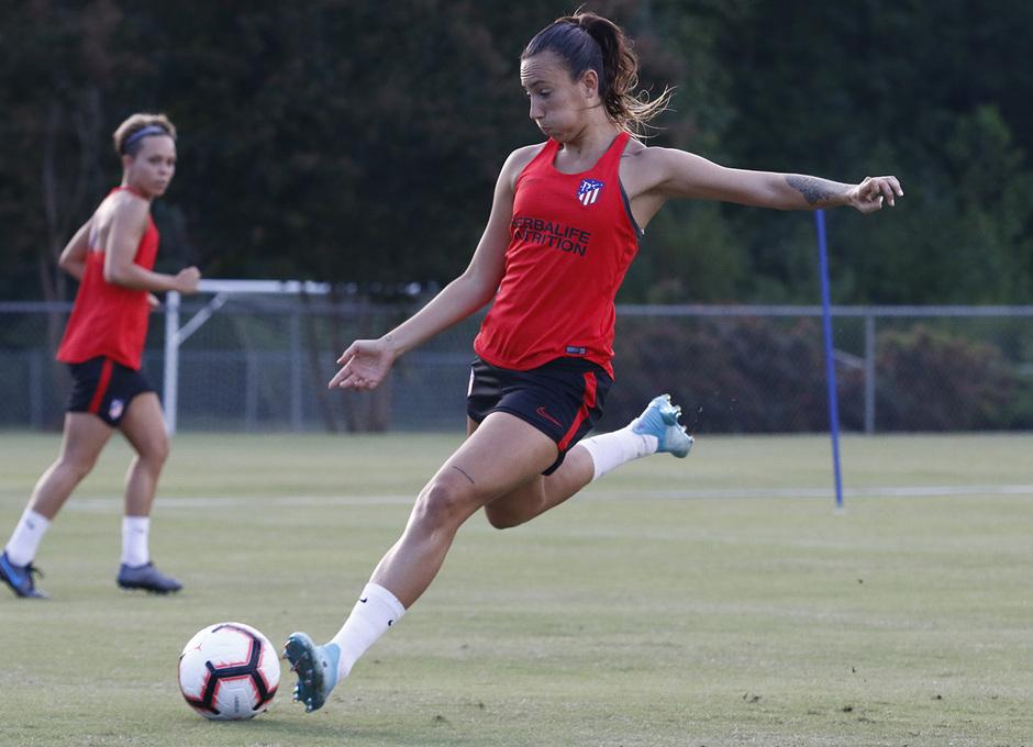 Temporada 19/20 | Entrenamiento del Atlético Femenino en Raleigh | Virginia Torrecilla