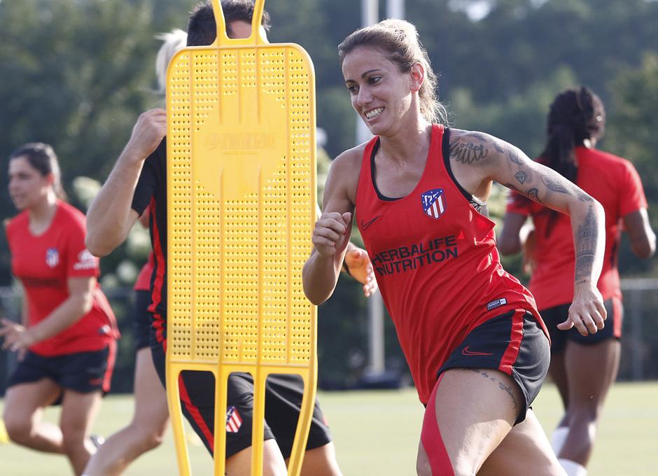 Temporada 19/20 | Entrenamiento del Atlético Femenino en Raleigh | Ángela Sosa