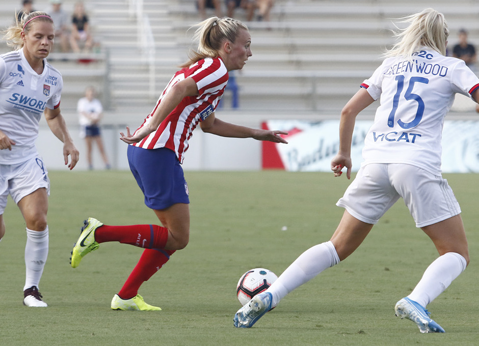 Temp. 19-20 | International Champions Cup | Lyon - Atlético de Madrid Femenino | Toni Duggan