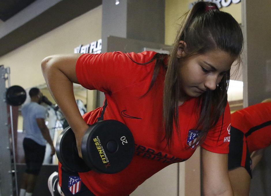 Temporada 19/20 | Entrenamiento del Atlético femenino en Raleigh | Ana Marcos