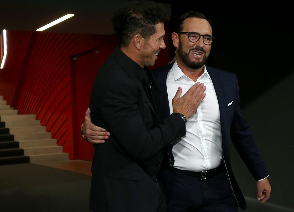 Temporada 19/20 | Atleti - Getafe | Simeone y Bordalás