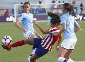 Temporada 19/20   International Champions Cup   Atlético Femenino - Manchester City   Kenti Robles