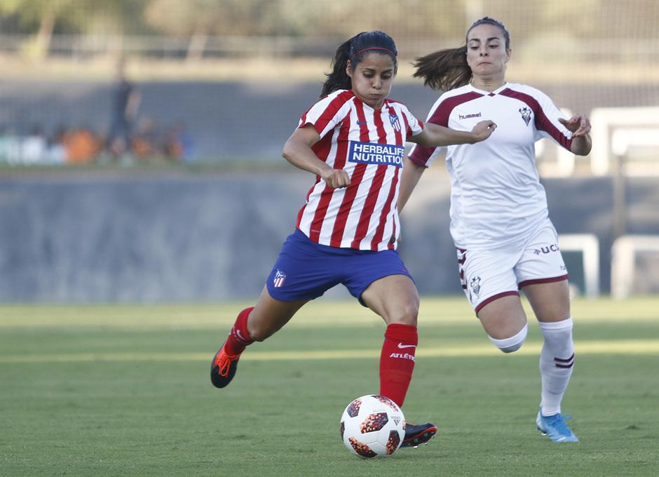 Temporada 19/20 | Atlético de Madrid Femenino - Fundación Albacete | Triangular | Kenti