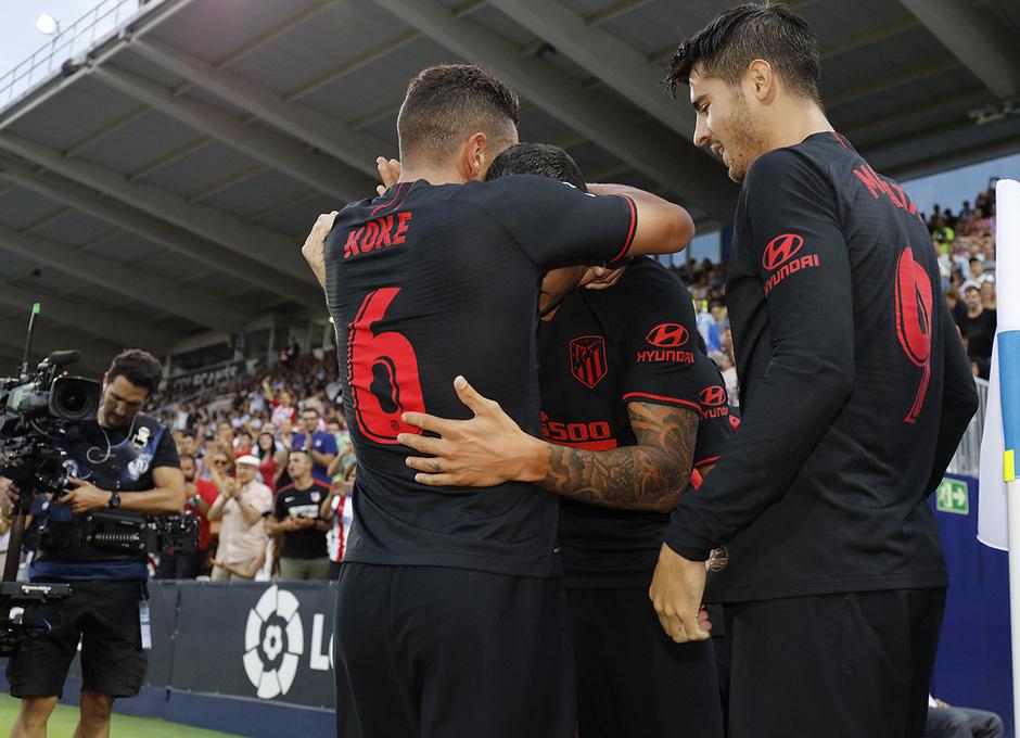 Temporada 19/20 | Leganés- Atlético de Madrid | Celebración
