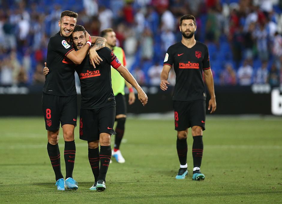 Temporada 19/20 | CD Leganés - Atlético de Madrid | Saúl y Koke
