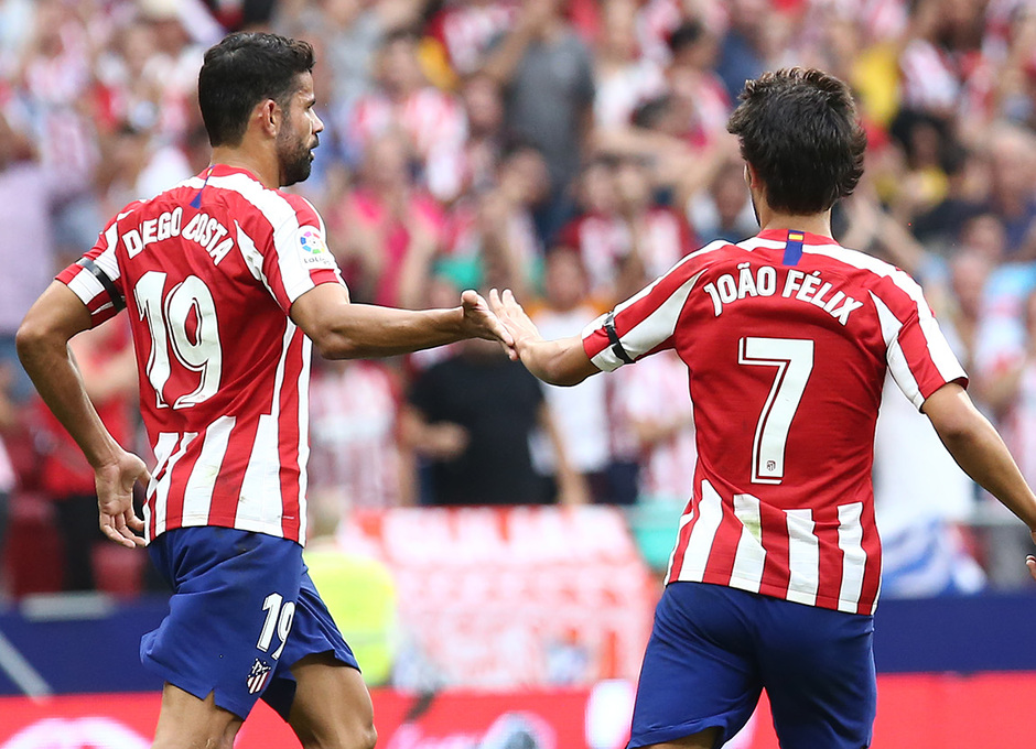 Temp 19/20 | Atlético de Madrid - Eibar | Diego Costa y Joao Félix