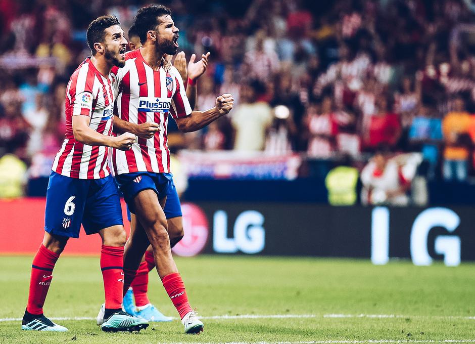 Temp. 19/20. La otra mirada. Atlético de Madrid-Eibar. Koke, Saúl