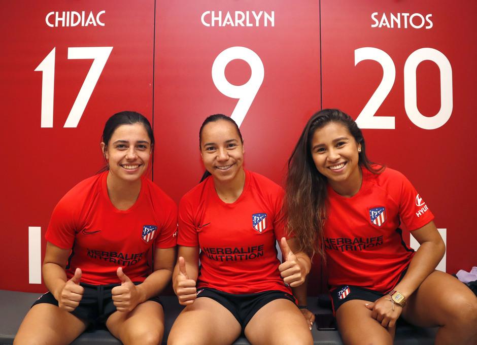 emporada 19/20 | Atlético de Madrid Femenino | Primer entreno Alcalá | Vestuario
