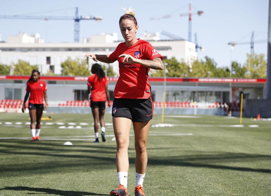 emporada 19/20 | Atlético de Madrid Femenino | Primer entreno Alcalá | Sosa