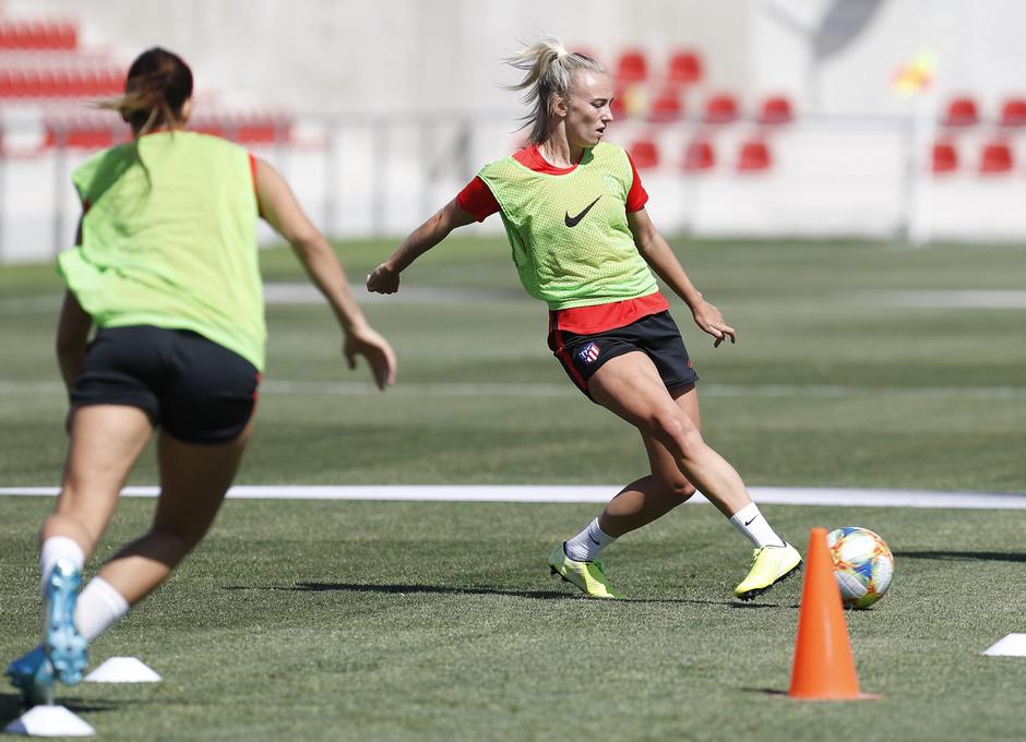 emporada 19/20 | Atlético de Madrid Femenino | Primer entreno Alcalá | Toni Duggan