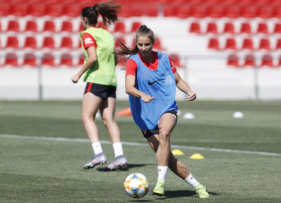emporada 19/20 | Atlético de Madrid Femenino | Primer entreno Alcalá | Storm