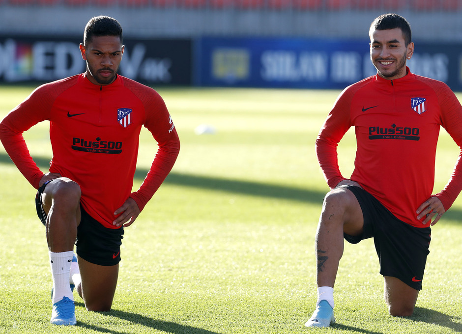 Temp. 2019/20 | Entrenamiento | Renan Lodi y Correa