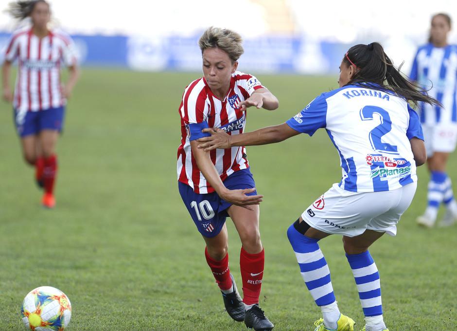Temp. 19/20. Sporting de Huelva - Atlético de Madrid Femenino. Amanda