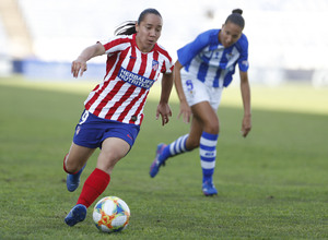 Temp. 19/20. Sporting de Huelva - Atlético de Madrid Femenino. Charlyn