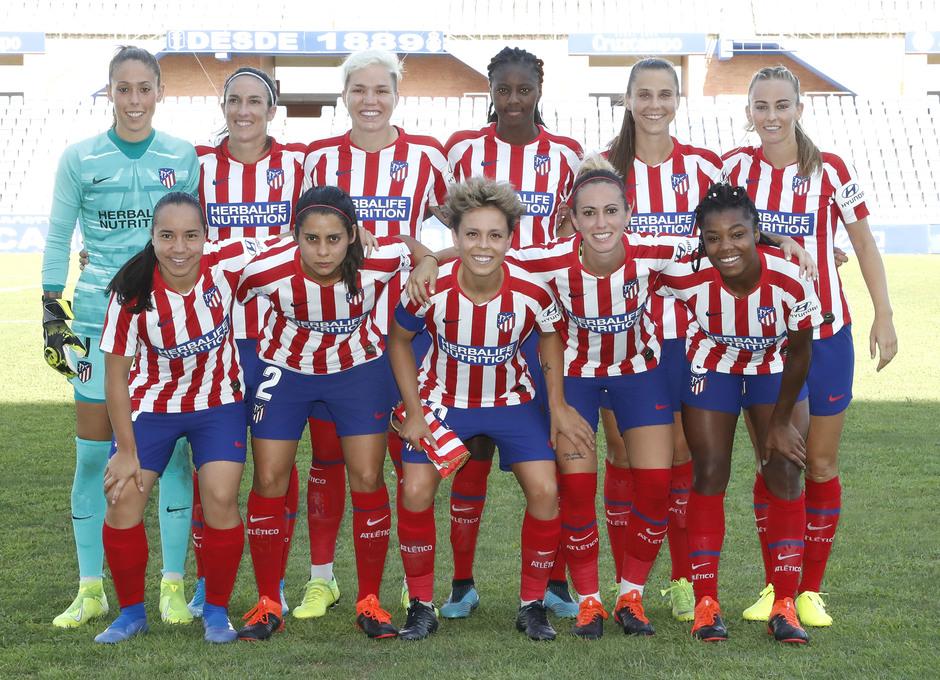Temp. 19/20. Sporting de Huelva - Atlético de Madrid Femenino. Once inicial