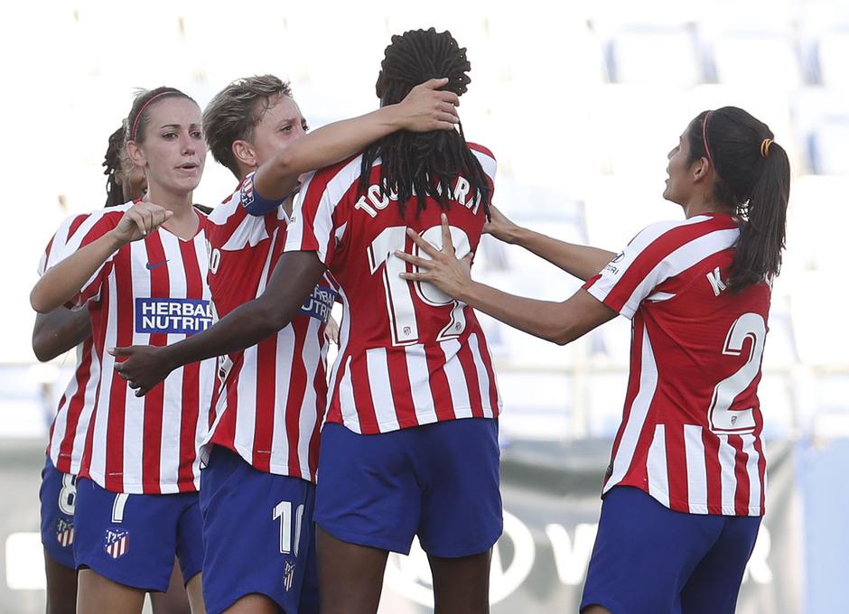 Temp. 19/20. Sporting de Huelva - Atlético de Madrid Femenino.