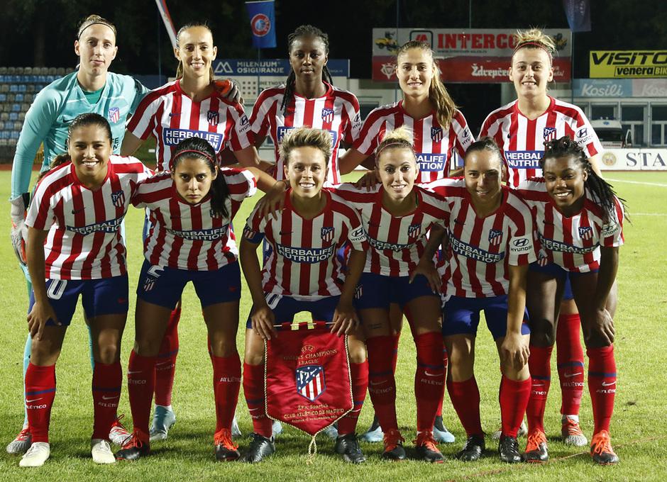 Temporada 19/20 | Spartak Subotica - Atlético de Madrid Femenino | Once