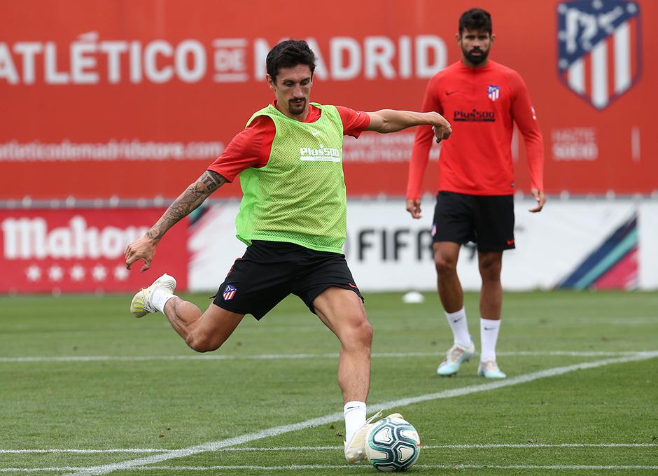 Temp.2019-2020. Entrenamiento del primer equipo. Ciudad Deportiva Wanda. 13/09/2019. Savic