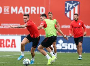 Temp.2019-2020. Entrenamiento del primer equipo. Ciudad Deportiva Wanda. 13/09/2019.