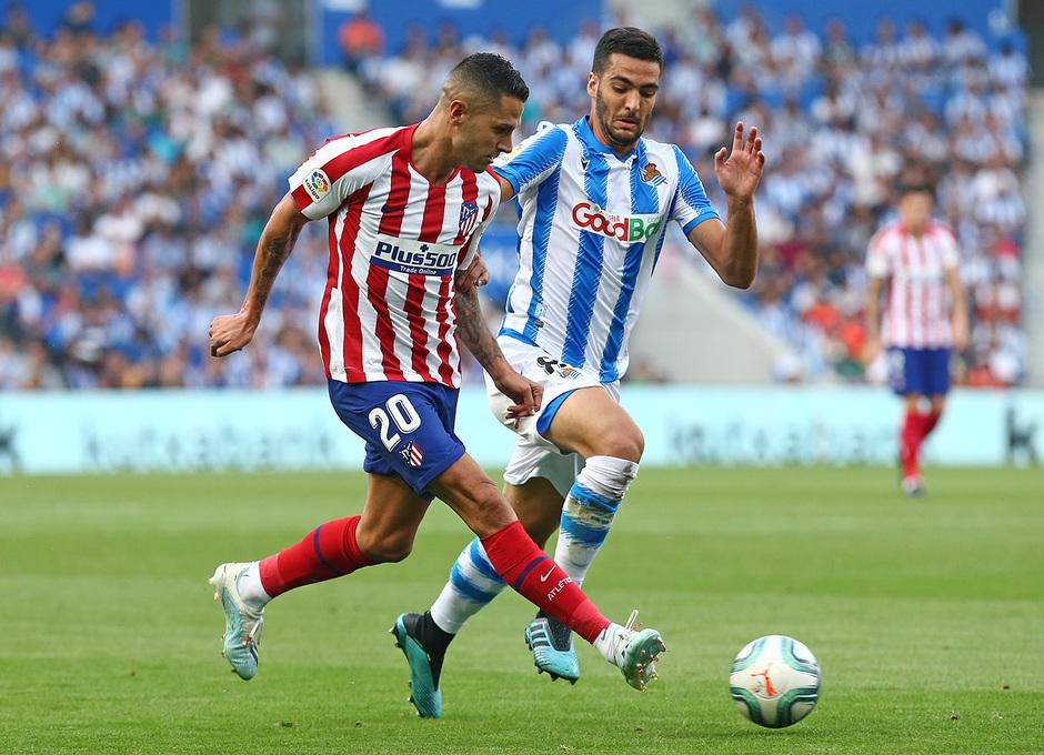 Temporada 19/20 | Real Sociedad - Atlético de Madrid | Vitolo