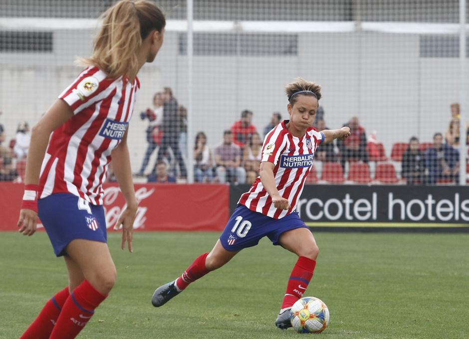 Temp. 19/20. Atlético de Madrid Femenino - Sevilla FC. Centro Deportivo Wanda Alcalá de Henares. Amanda