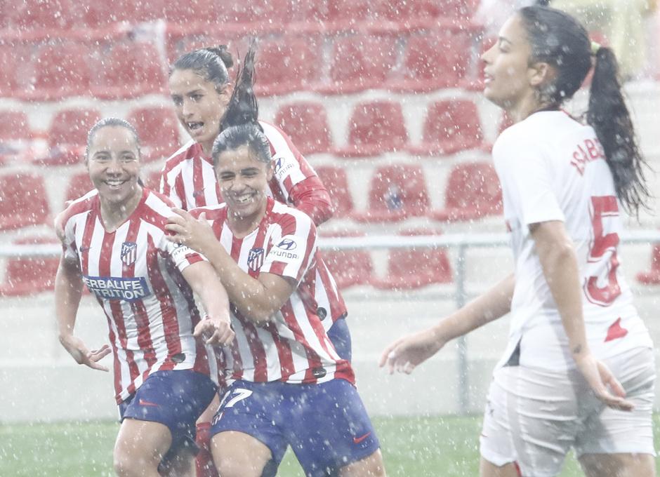 Temp. 19/20. Atlético de Madrid Femenino - Sevilla FC | Celebración Charlyn Corral