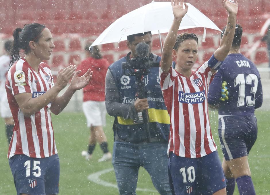 Temp. 19/20. Atlético de Madrid Femenino - Sevilla FC | Amanda, Meseguer
