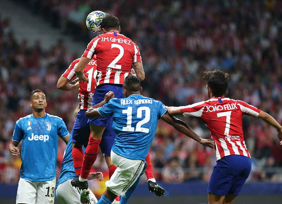 Temp. 19-20   Atlético de Madrid - Juventus   Giménez