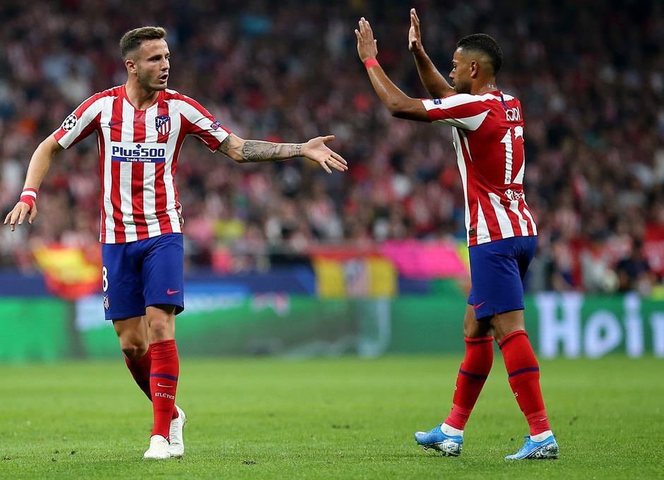 Temp. 19-20   Atlético de Madrid - Juventus   Saúl y Lodi