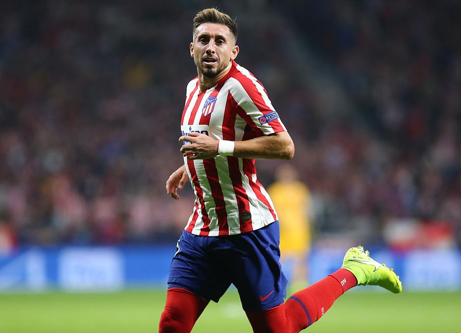 Temp. 19-20   Atlético de Madrid - Juventus   Héctor Herrera celebración