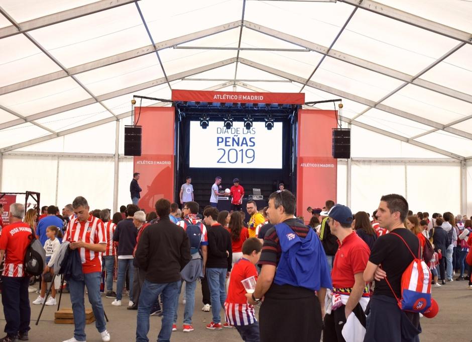 Temp. 19-20   Día de las peñas   Atlético de Madrid - Celta