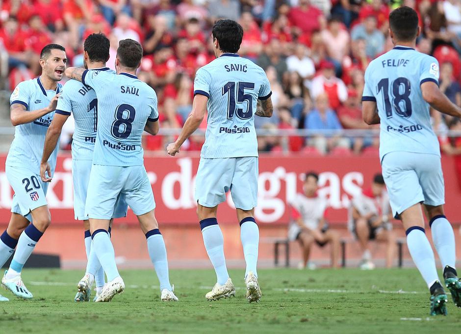 Temporada 19/20 | Mallorca - Atleti | Celebración