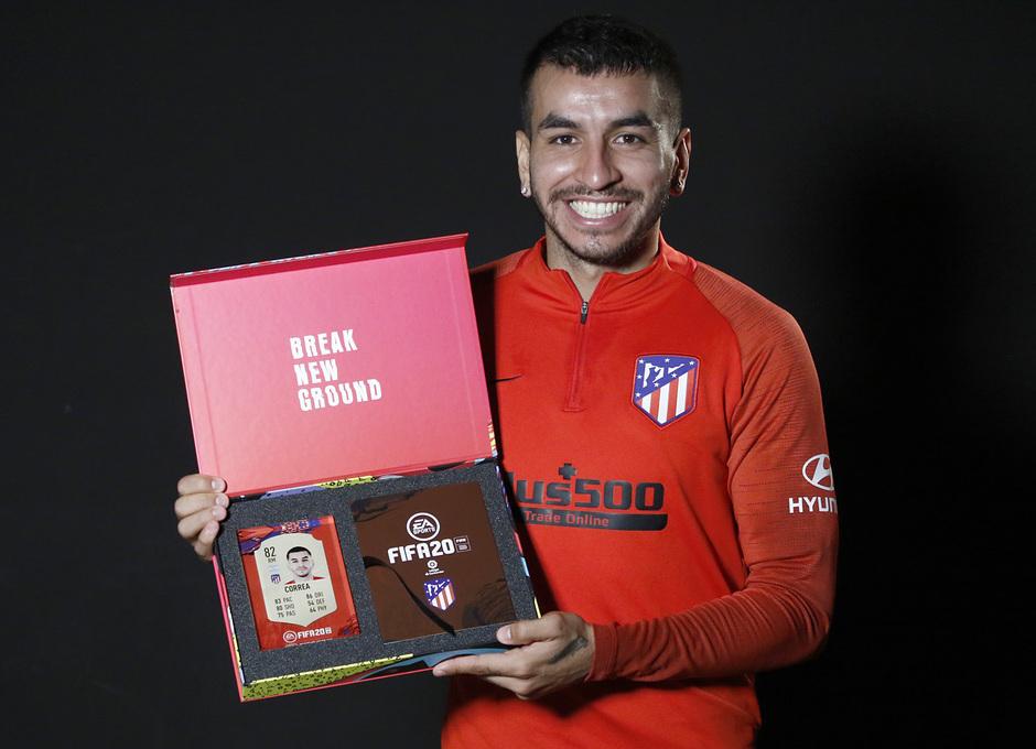 Temp. 19/20. FIFA20. Correa