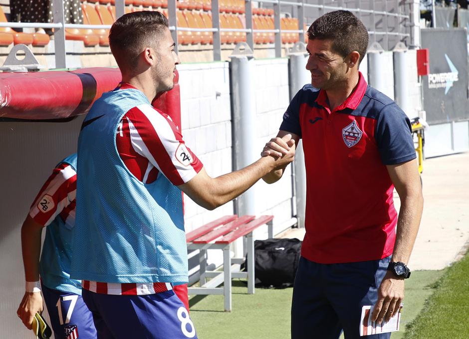 Temp 19/20 | Atlético de Madrid B - UD Sanse | Toni Moya y Manolo Cano