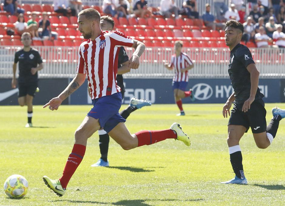 Temp 19/20 | Atlético de Madrid B - UD Sanse | Darío Poveda