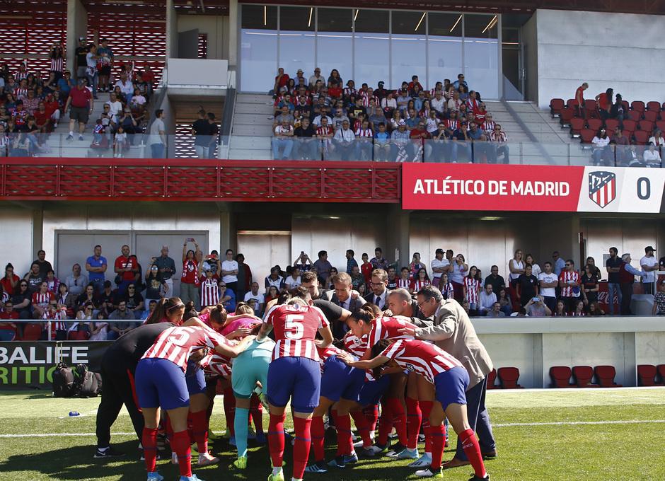 Temporada 19/20 | Atlético de Madrid Femenino - EDF Logroño | Piña