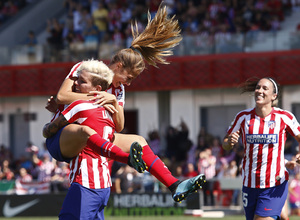 Temporada 19/20 | Atlético de Madrid Femenino - EDF Logroño | Celebración Laia