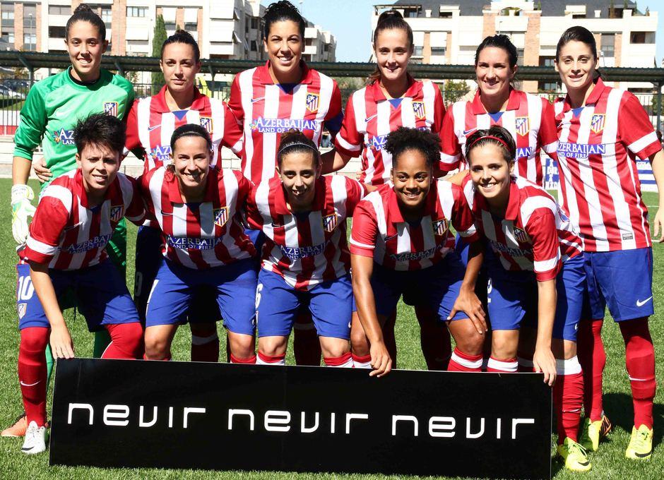 Temporada 2013-2014. Once del Féminas ante la Real Sociedad