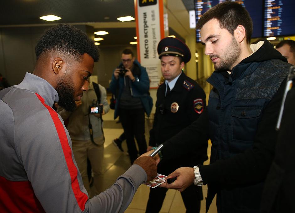 Temporada 19/20 | Lokomotiv - Atlético de Madrid | Llegada | Lemar
