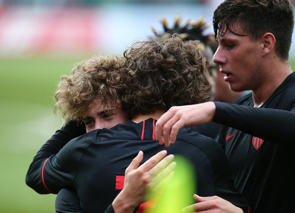 Temp 2019-20 | Youth League | Lokomotiv - Juvenil A | Riquelme celebración