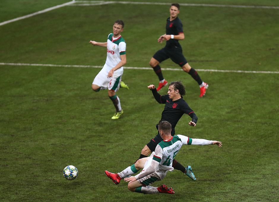 Temp 2019-20 | Youth League | Lokomotiv - Juvenil A | Riquelme