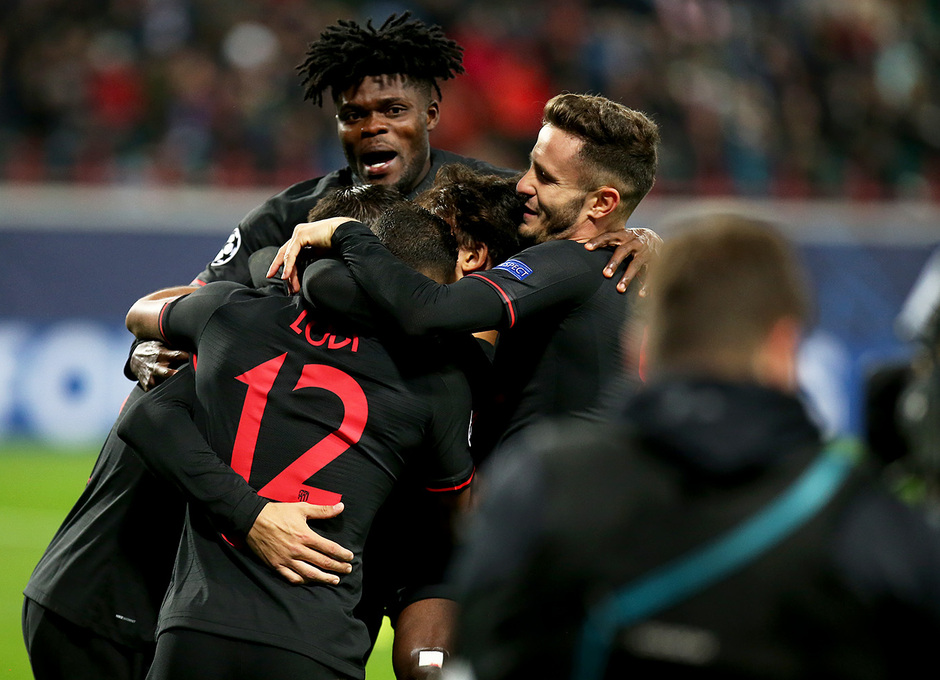 Temp 2019-20 | Champions League | Lokomotiv - Atlético de Madrid | Gol