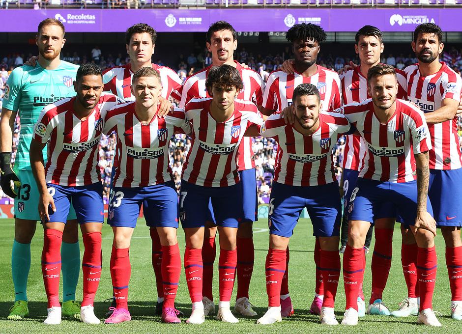 Temp 2019-20 | Real Valladolid - Atlético de Madrid | Once inicial