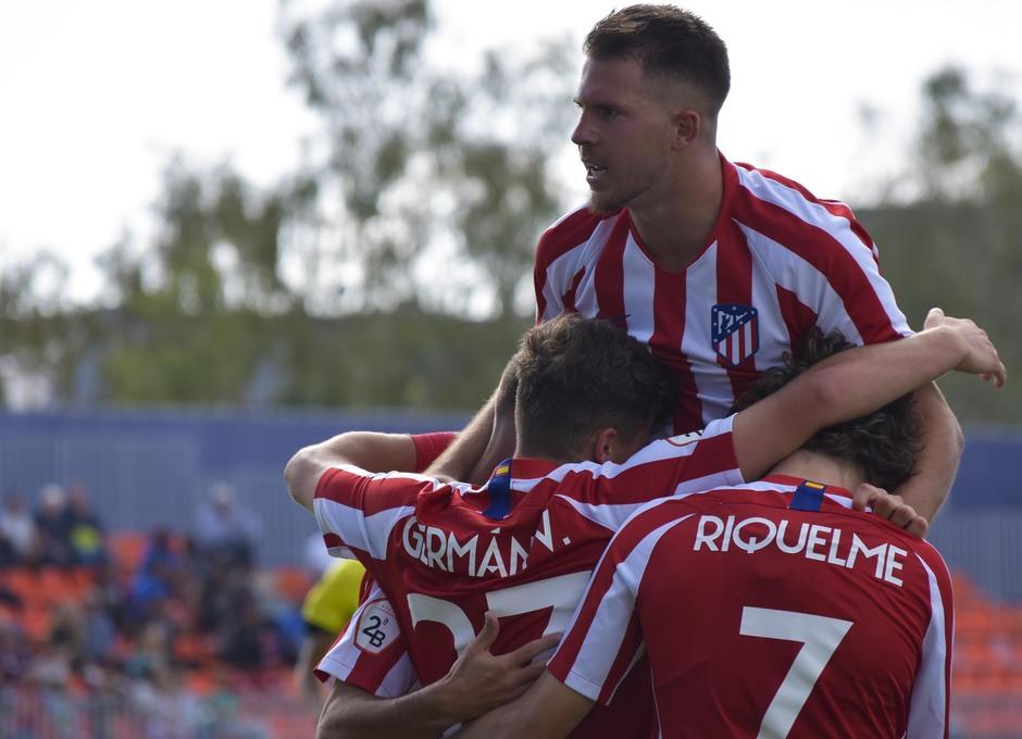 Temporada 19/20   Atlético de Madrid B - Coruxo   Gol