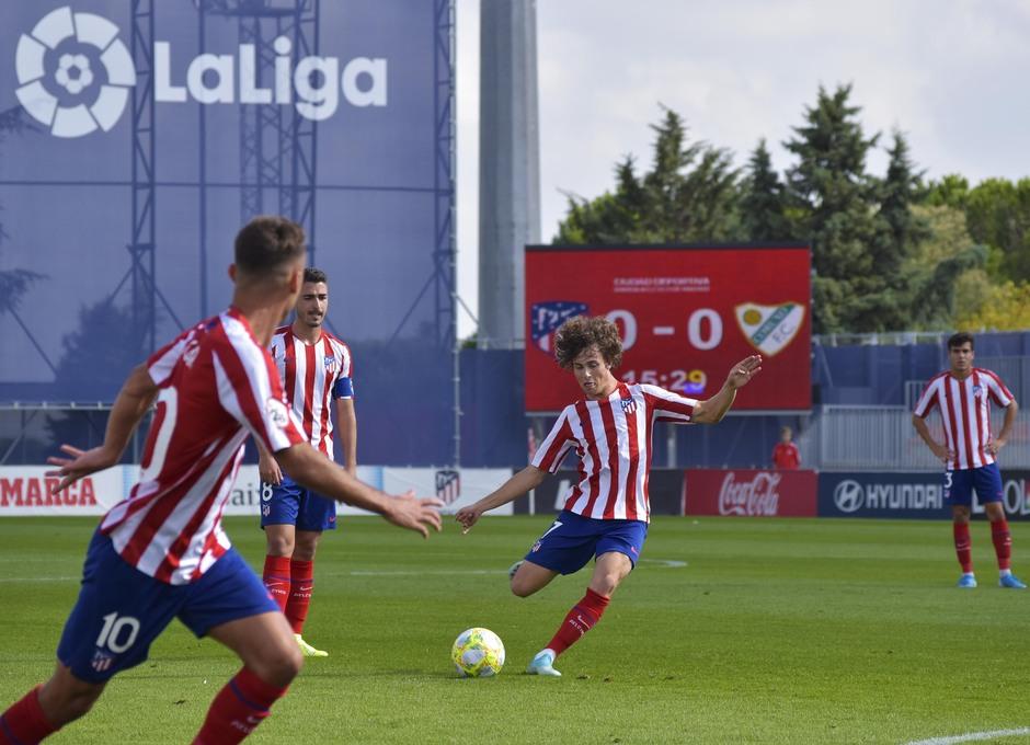 Temporada 19/20   Atlético de Madrid B - Coruxo   Riquelme