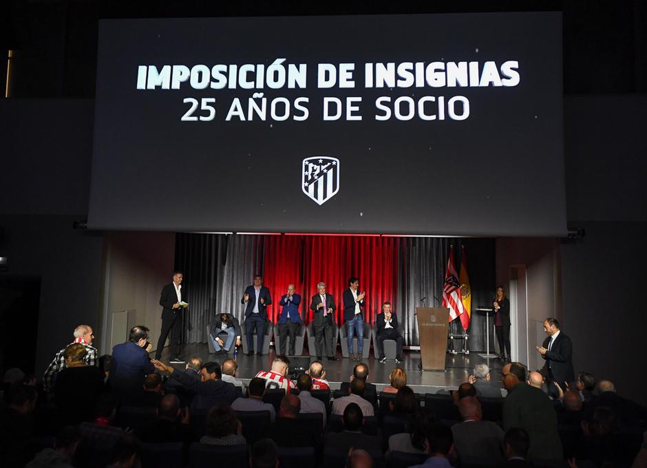 Temporada 19/20 | Imposición de insignias de plata 25 años