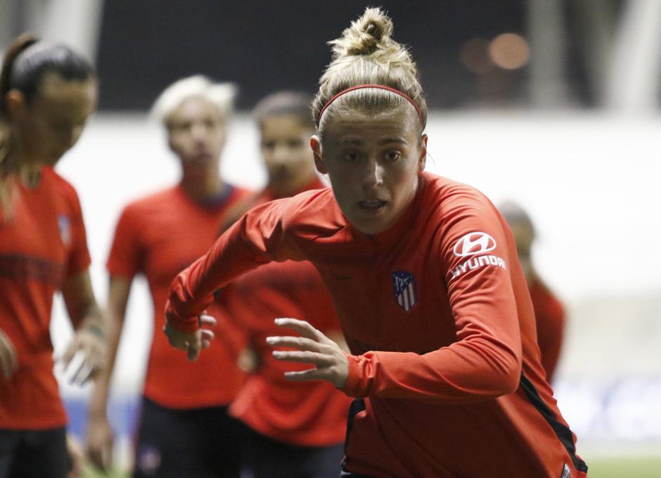 Temp. 19-20 | Entrenamiento en el Academy Stadium | Atlético de Madrid Femenino | Menayo