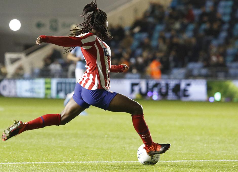 Temporada 19/20 | Manchester City - Atlético de Madrid Femenino | Ludmila