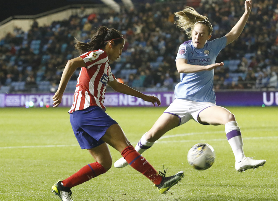 Temporada 19/20 | Manchester City - Atlético de Madrid Femenino | Kenti